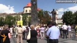 У Львові молились за загиблих бійців поблизу Зеленопілля