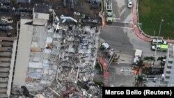 ساختمان فرو ریخته در ایالت فلوریدای امریکا