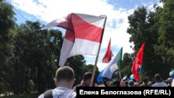 Хабаровск поддерживает протест в Беларуси