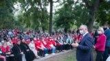 Întrunirea lui Igor Dodon la Vulcănești. 6 octombrie 2020