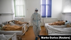 COVID bolnica u Zemunu, Beograd (2020.)
