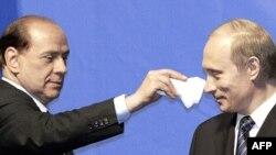 Berlusconi və Putin, 2004-cü il