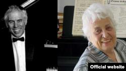 Sofia Gurevitch-Cosma și Lincoln Mayorga, realizatorul unui documentar american despre viața pianistei