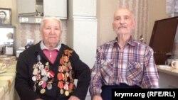 Эдие Бурнашева с супругом Шукри