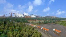 Khuzestan Steel Mill Company, one of the biggest steel producers in Iran. FILE PHOTO