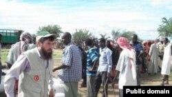 Фәнзил Әхмәтшин Сомалида һуманитар ярдәм тарата