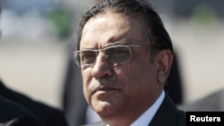 Pakistani President Asif Ali Zardari (file photo)