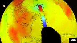 На одной из конференций ООН по вопросам глобального потепления