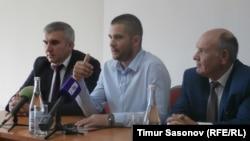 Пресс-конференция Евгения Мартенса для отечественных и зарубежных СМИ в Ставрополе