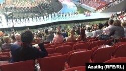 WorldSkills чемпионаты ачылышында буш урыннар
