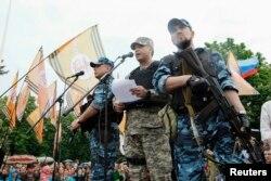 Командир Армии Юго-Востока самопровозглашенной ЛНР Валерий Болотов