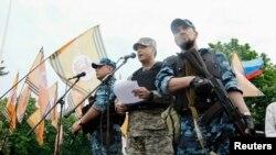 Озброєні сепаратисти в Луганську, 12 травня 2014 року