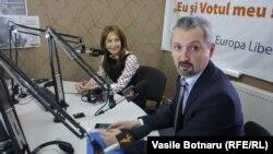 La dezbaterea din studioul Europei Libere la Chișinău