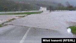 Poplave u Kuršumliji, foto: Miloš Ivanović