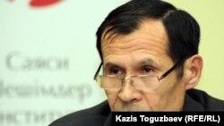 Жанат Айтлеу, первый заместитель начальника управления архитектуры и градостроительства алматинского городского акимата. Алматы, 16 октября 2012 года.