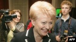 Незалежний кандидат Даля Ґрібаускайте