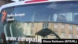 Anul trecut, autobuzul campaniei la Gotești