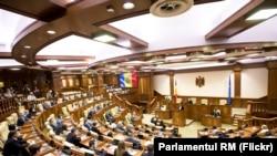 Ședința inaugurală a noului Parlament de la Chișinău, 26 iulie 2021.