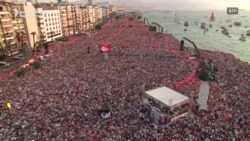 Rally In Izmir For Turkish President's Main Rival Has Huge Turnout