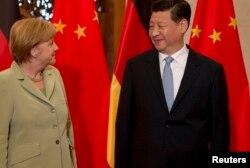 Об очередном шпионском скандале Ангела Меркель узнала во время визита в Китай