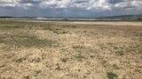Сухое дно Тайганского водохранилища