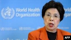 Керівник ВООЗ Марґарет Чан оголошує рішення організації, Женева, 1 лютого 2016 року