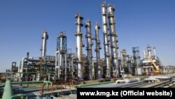 Kazakhstan's state oil and gas company KMG has been earmarked for privatization as Astana seeks to raise some much-needed cash amid an economic downturn. (file photo)