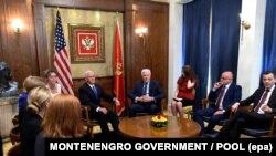 Razgovori o budućnosti Crne Gore: Majk Pens i premijer Crne Gore Duško Marković