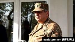 Կենտրոնական զինվորական հոսպիտալի տնօրեն Արամ Ասատուրյանը: