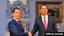 Визит премьер-министра Омурбека Бабанова в Российскую Федерацию, Москва, 24 июля 2012 года.