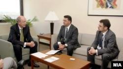 Владина делегација на средба со извршниот директор на ММФ во Вашингтон