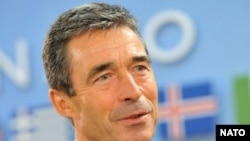 NATO Secretary-General Anders Fogh Rasmussen at NATO headquarters in Brussels (file photo)