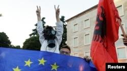 Antivladini protesti u Albaniji