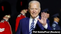 U.S. President Joe Biden is in Cornwall on the southern U.K. coast for a summit with other Group of Seven (G7) industrialized nation leaders this weekend.