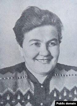 Лідзія Ржэцкая, 1955 год