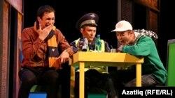 """Илгиз Зәйниевнең """"Мәхәббәт FM"""" спектакле"""