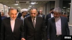 Ali Akbar Velayati, Khamenei's foreign policy advisor, arrived in Syria on April 10, 2018