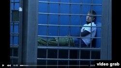 Олексій Гончаренко у поліцейскому відділку (відео поліції)