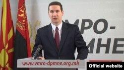 Владимир Ѓорчев од ВМРО-ДПМНЕ.