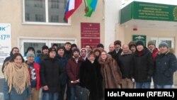"""Сторонники организации """"Башкорт"""" пришли поддержать общественную структуру"""