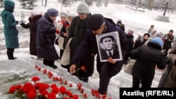 Zufra Fatkoullina Remembering of Stalin's Great Terror vicitms in Ufa