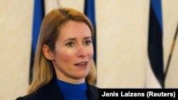 Каја Калас, премиерка на Естонија.