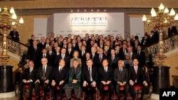 شرکت کنندگان در کنفرانس افغانستان در لندن