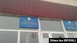 У областного центра гипербарической оксигенации имени Орынбаева, куда привезли Нуркена Айнабекова. Шымкент, 22 декабря 2016 года.