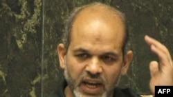 احمد وحیدی وزیر پیشنهادی برای وزارت دفاع که نامش در لیست اینترپل تحت تعقیب است