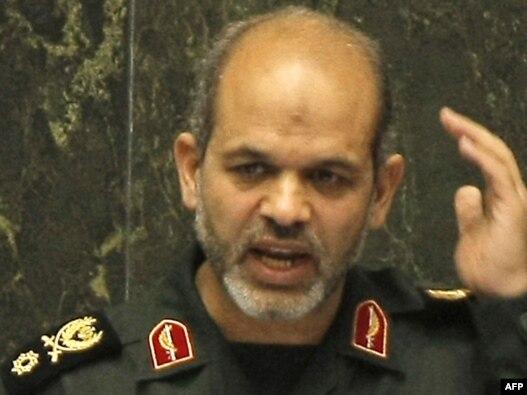 احمد وحیدی، وزیر دفاع و پشتیبانی نیروهای مسلح ایران