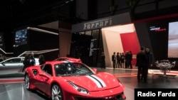 Ferrari 488 Pista մեքենա, արխիվ