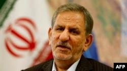 اسحاق جهانگیری، معاون اول رئیسجمهوری ایران