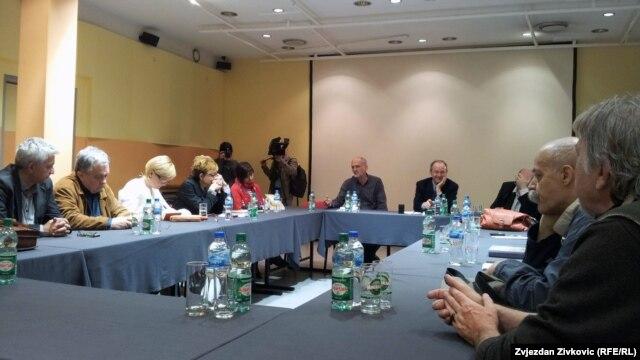 Sa promocije knjige u Sarajevu