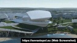 Проєкт театру опери та балету у Севастополі від компанії Coop Himmelb(l)au